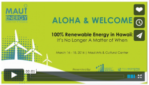 Now Airing 2016 Maui Energy Conference