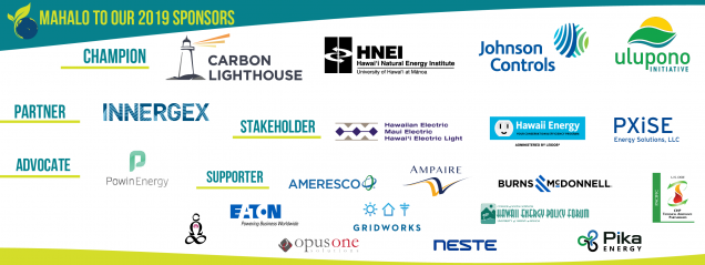 Hawaii Energy Conference sponsors